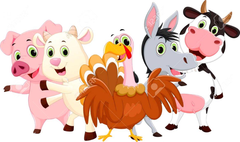 cute farm animals clipart - Google Search   Farm animals pictures, Barn  animals, Animal clipart