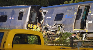 Al menos treinta heridos por el descarrilamiento de un tren en Nueva York