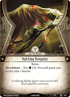 detail of the Rotting Remains Encounter Card