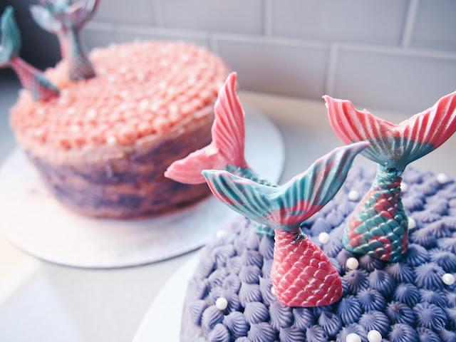 Mermaid Party - easy mermaid cakes