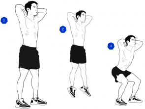 tabata jump squat workout