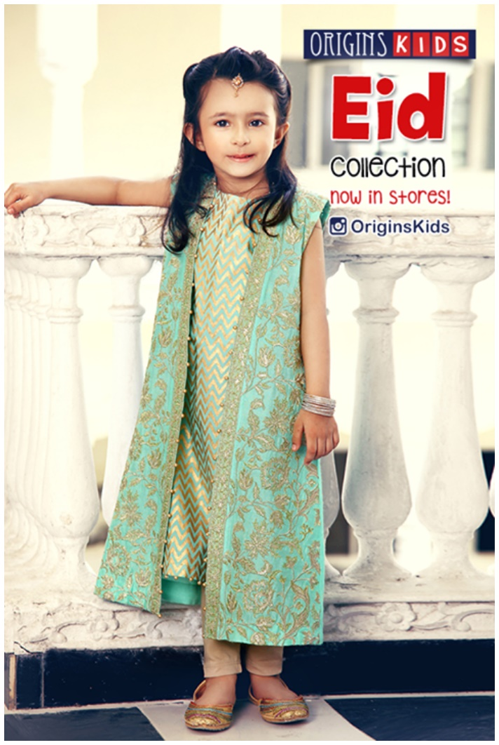 Newfashionworld Kids Eid Ul Fitar Dresses 2015 16 By