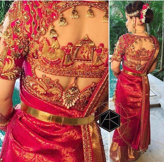 16 Unique Blouse Designs For Wedding
