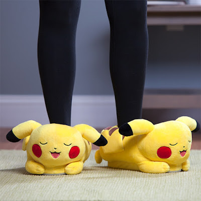 Pikachu Light-up Slippers