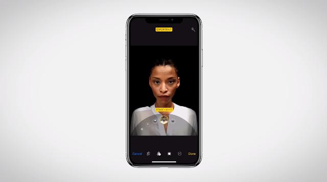 Apple-retrato-de-iluminacion-Portrait-Lighting-iPhone-X