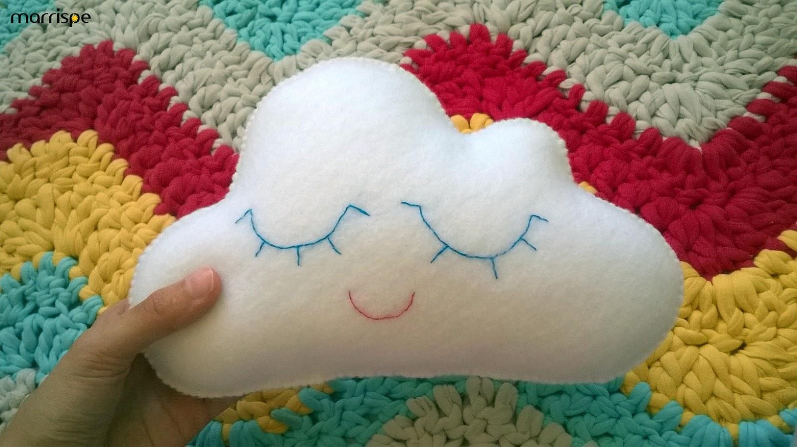 Cloud Mobile PDF Pattern, crochet, amigurumi | Alfabeto de crochê ... | 898x1600