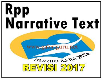 RPP Narrative Text SMA Kelas X kurikulum 2013 (Galeri Guru)