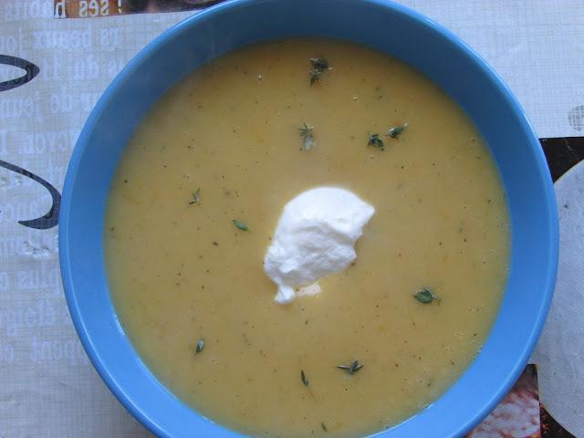 zupa z dyni i ziemniaków