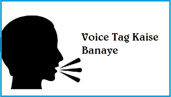 Voice-Tag-Kaise-Banaye