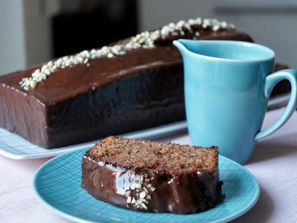 REZEPT: glutenfreier Schoko-Nuss Kuchen