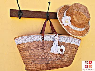 ideas reciclar capazos y sombreros