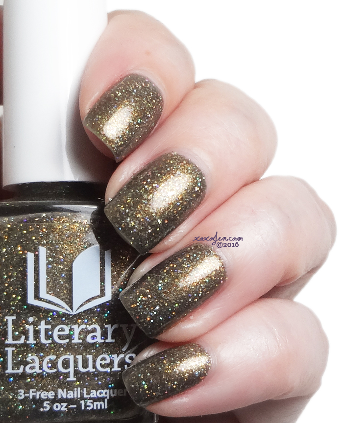 xoxoJen's swatch of Literary Lacquers And This Mystery Explore
