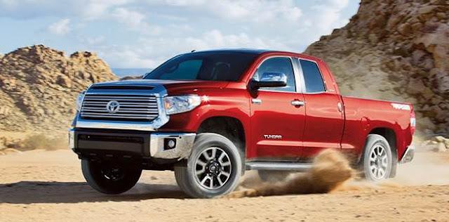 2017 Toyota Tundra Changes
