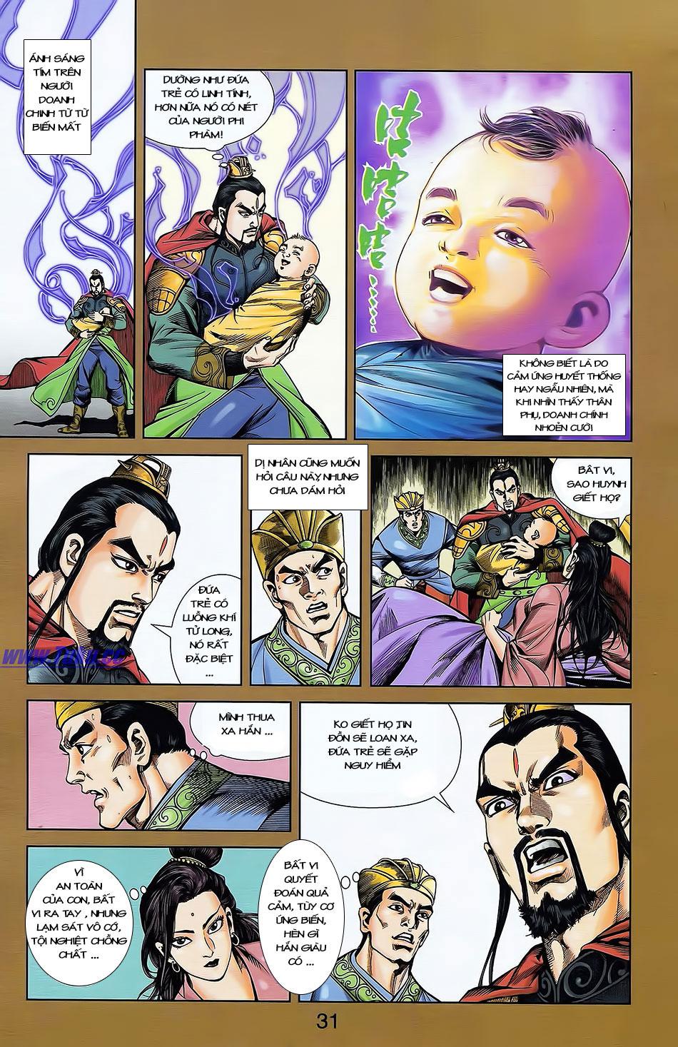 Tần Vương Doanh Chính chapter 4 trang 3