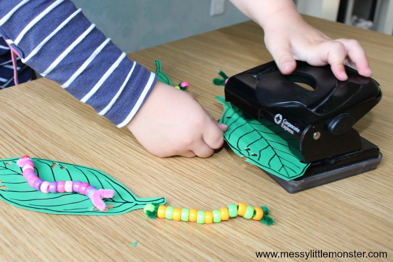 An Easy The Very Hungry Caterpillar Craft For Toddlers And Preschoolers Free Printable