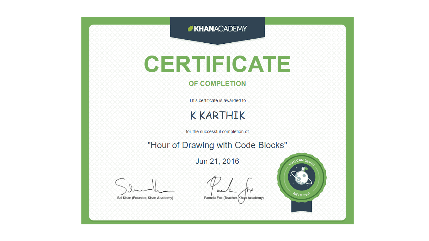 how to create codes on khan academy