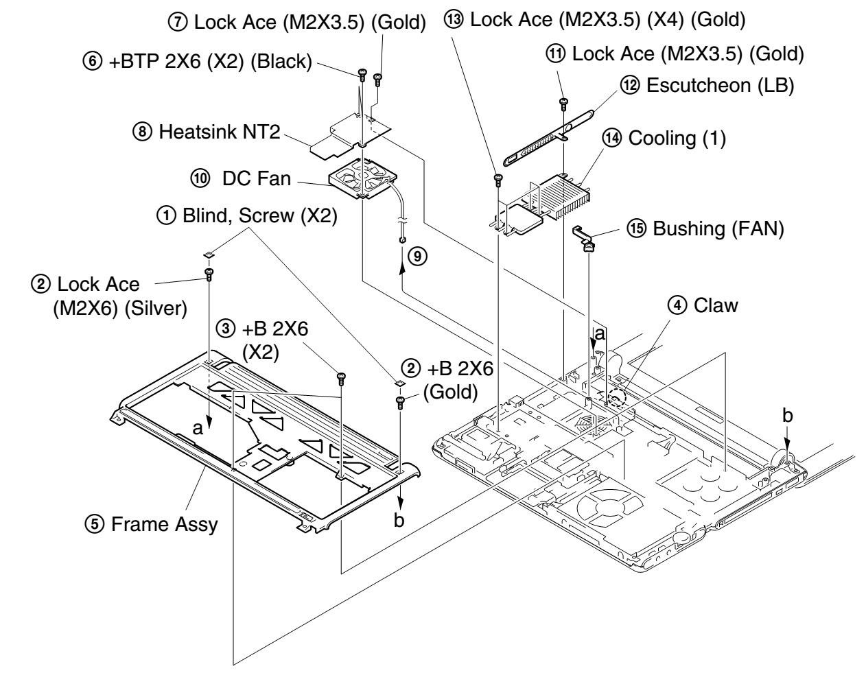 Sony Vaio Parts Diagram - Bing Images