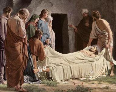 MÉDITATIONS POUR CHAQUE JOUR DE CARÊME par ST. THOMAS D'AQUIN, O.P.  Jesus%2Bsepultura