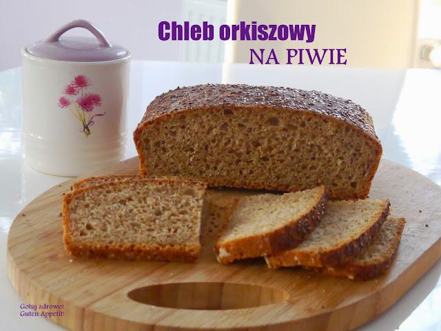 Chleb orkiszowy na piwie - Czytaj więcej »