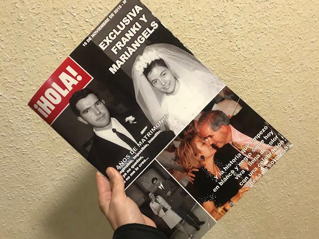 Revista personalizada ¡Hola!