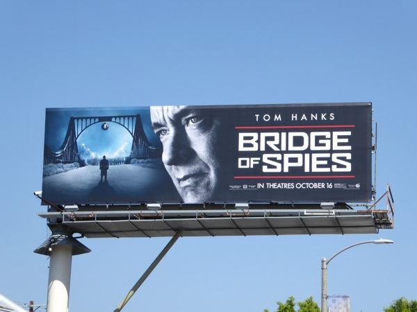 Bridge of Spies movie billboard