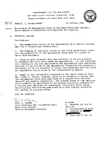 Evaluation of Landing Site at Gwinner, N.D.– Air Force Flight Dynamics Lab (AFSC) (pg 1) 10-26-1966