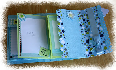 mini album scrapé