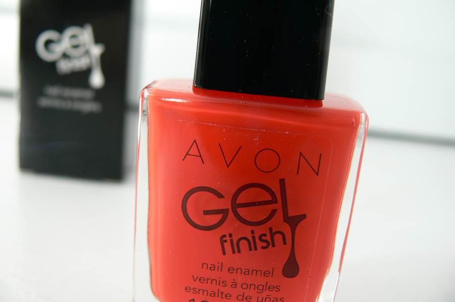 Avon Gel Finish Orange Crush opakowanie