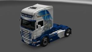 Scania RJL Polar Bear Skin