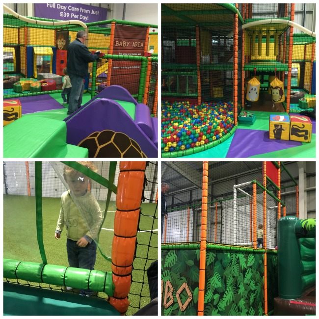 Mambo-Soft-Play-Cardiff-A-Toddler-Explores-collage-of-balpit-and-toddler-area