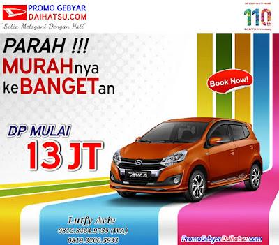 Promo Mobil Daihatsu Ayla September 2017