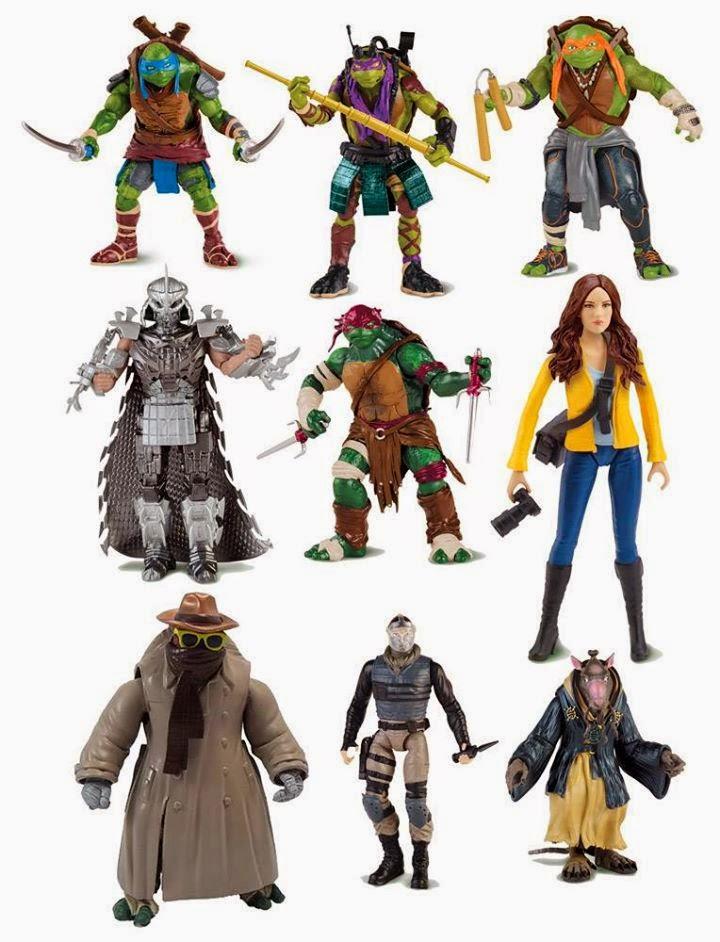 Tmnt 2014 Movie Action Figures Revealed