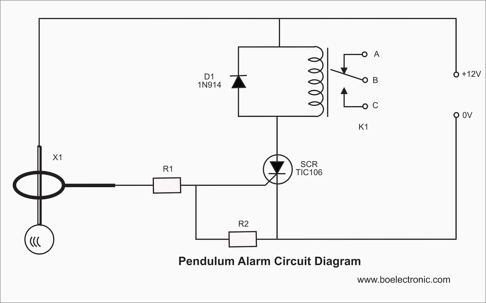 Radio S Dpdt Relay Schematic Basic Relay Schematic