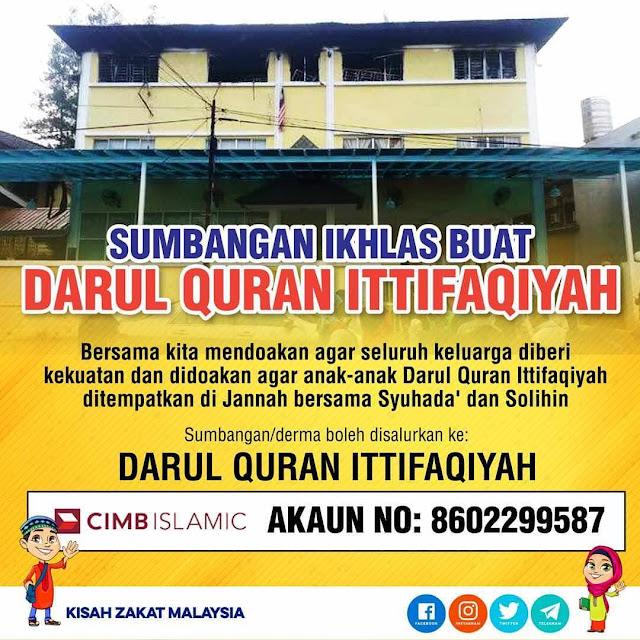 Takziah Buat keluarga mangsa Tahfiz Darul Quran Ittifaqiyah