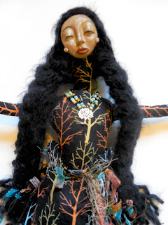 Strength of the Alder Woman OOAK Spirit Doll by Jeanne Fry