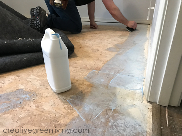 Easy to install recyclable carpet