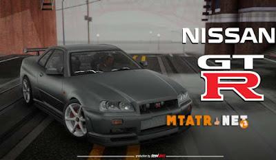 Nissan Skyline GTR R-34 Stock