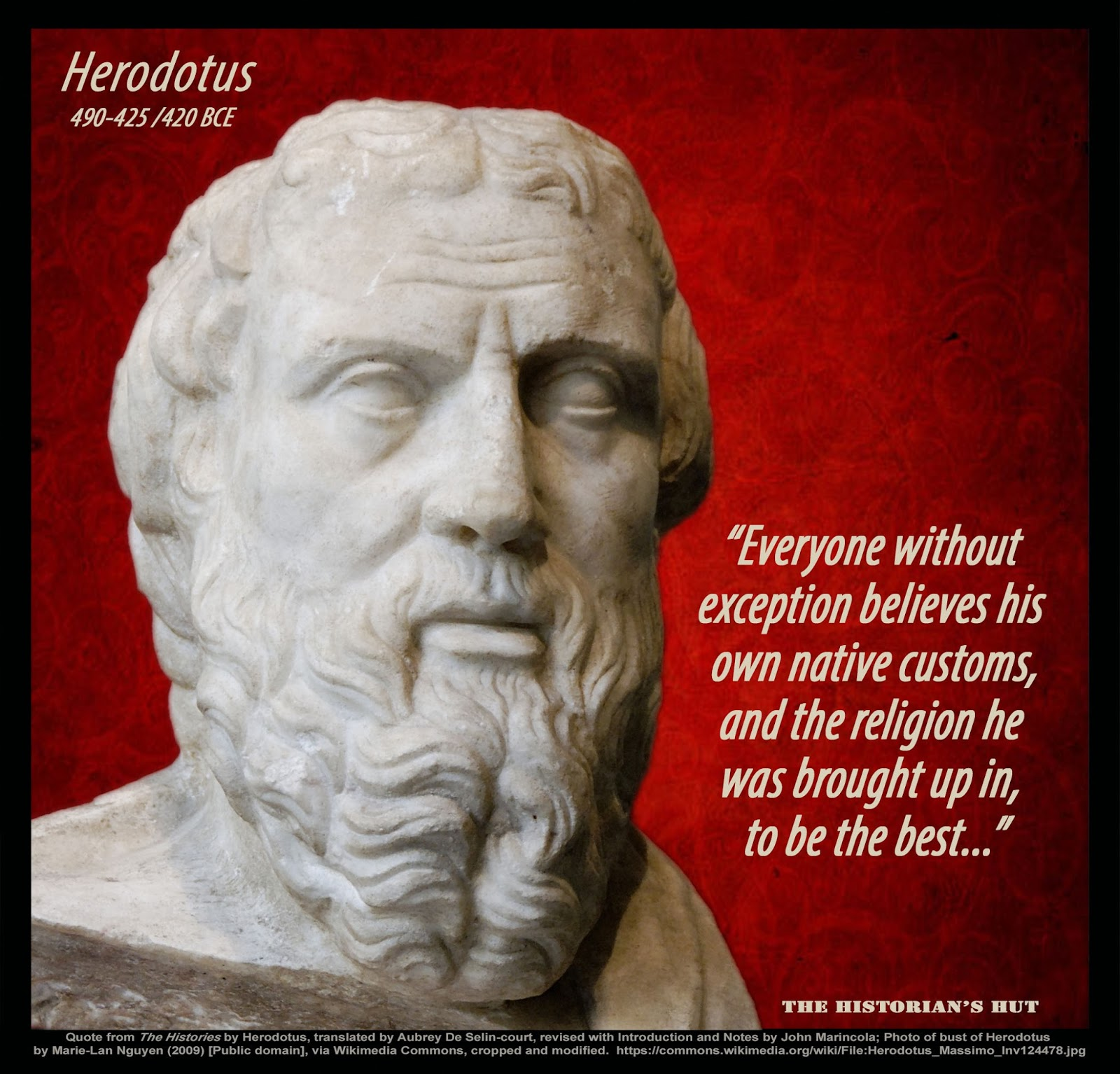 herodotus and greek philosophy Happily, though, herodotus ('gift of hera') proved to be one of the greeks least   here is but a small, suitably 'philosophical', sample of the new translation,.
