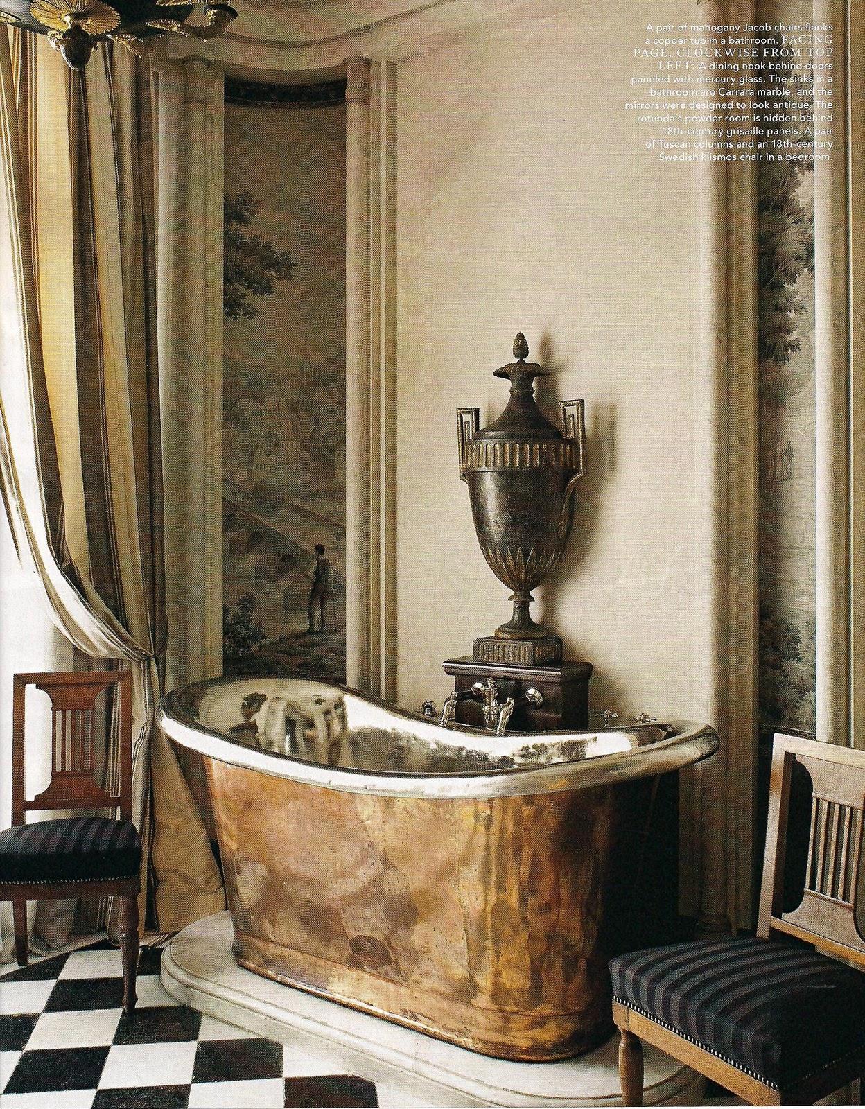 Paris Style Bathroom Decor: Renée Finberg ' TELLS ALL ' In Her Blog Of Her Adventures