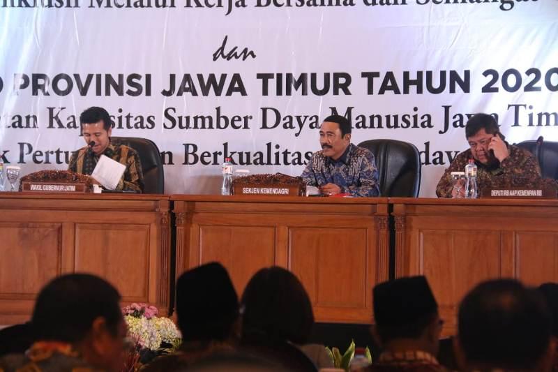 Hadi Prabowo: Kolaborasi Pemerintah dan Pemda Tingkatkan Kualitas Pembangunan