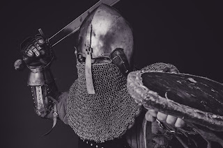 Putting on the armour of God - ready to fight the good fight