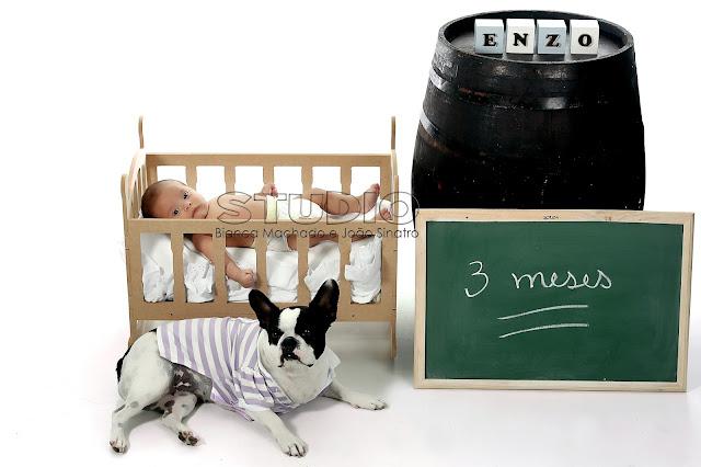 fotografia de bebes em estudio