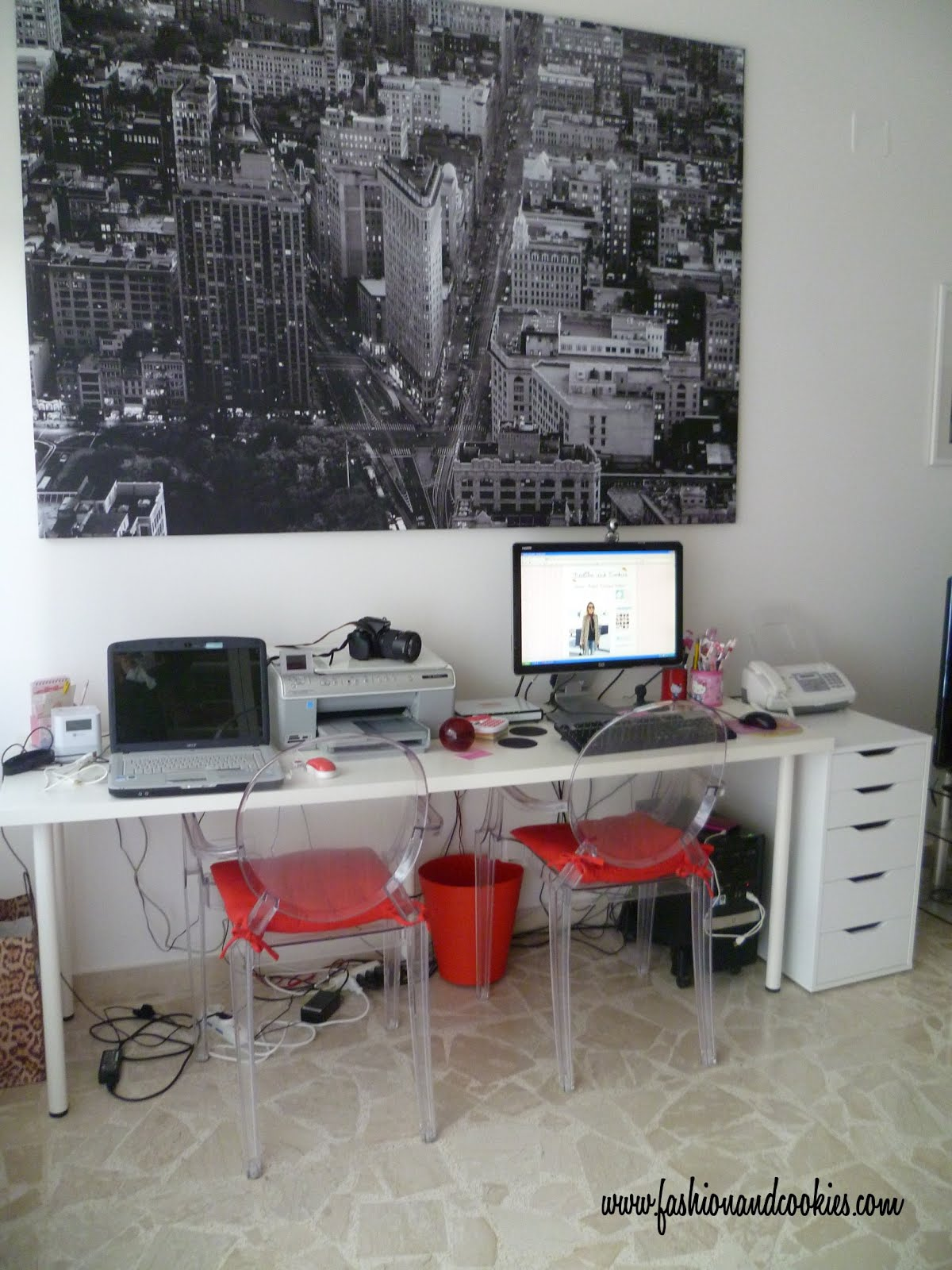 Scrivania Alve Di Ikea.My Flat New Study Room Fashion And Cookies Fashion And Beauty Blog