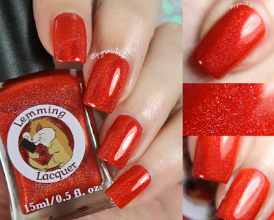 Lemming Lacquer Bloody Mary, Full of Vodka | Damn It, I had Something For This; An Archer Inspired Collection