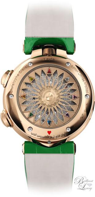 Brilliant Luxury ♦ Christophe Claret Layla Watch Women