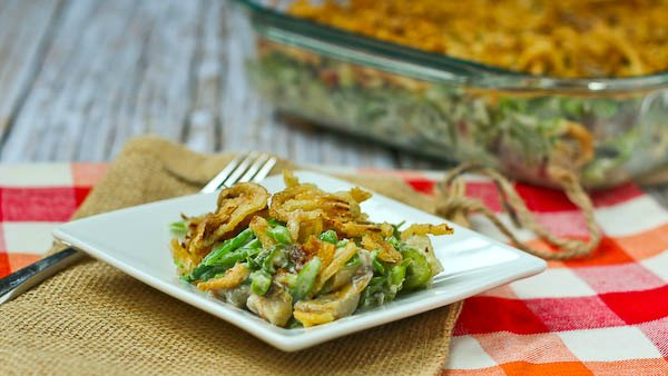 Green Bean Casserole without Canned Soup from Rachel Cooks