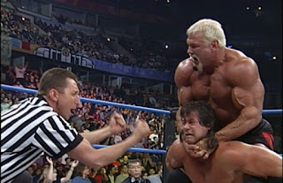 WCW Spring Stampede 2000 - Scott Steiner faced Mike Awesome