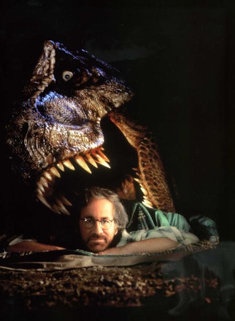 steven spielberg t-rex