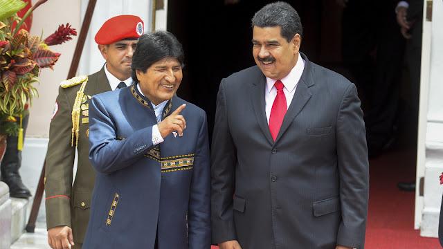 Maduro planea entrar a Perú escondido en el avión de Evo Morales