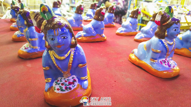 Tiny little god statue @ Little India Brickfields KL